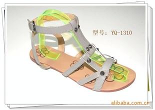 供应夏季流行时尚 平底 罗马式风格凉鞋 惠东女鞋