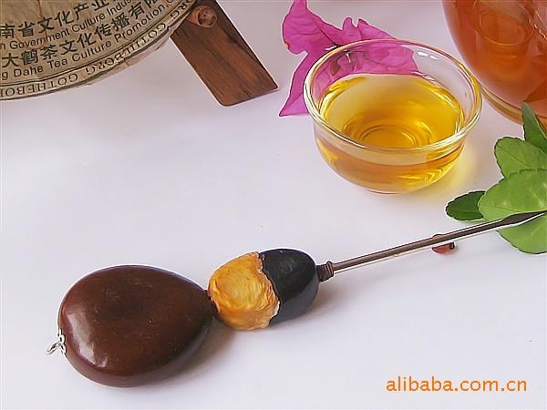 批发纯手工茶针 茶刀 茶锥 普洱茶具 天然果茶针