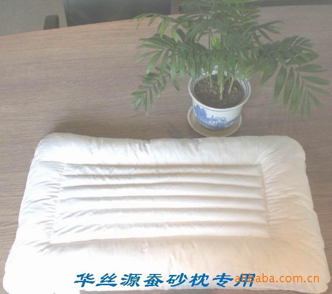 十六种中草药 本厂专利 保健蚕砂枕 枕型时尚大方 供批发代理