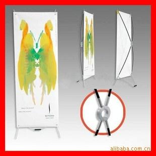 易拉宝-广州X展架展览展示�器材X展架 X展架画面制作-广州清