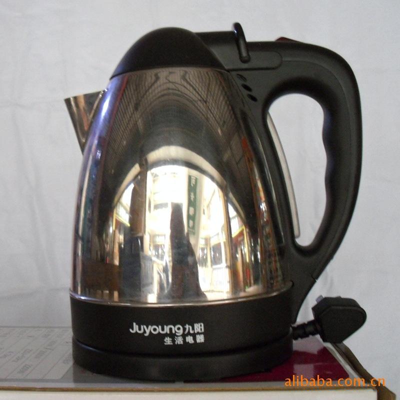 ...电热水壶 电热杯 广东彩塘不锈钢无磁加厚 高升琴音电热壶批...