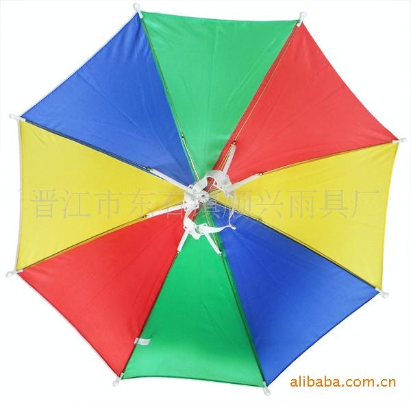 【厂家v厂家帽子伞图纸太阳伞】中雨伞叶片连复众图片