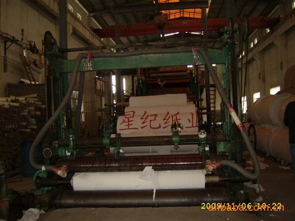 供应环保再生浆白色38-45克擦手纸原纸(图)