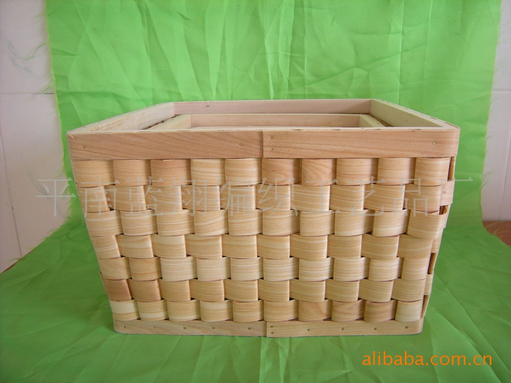 采购超市工艺品-包装木篮子,塑料供应餐具植物篮子套装时尚