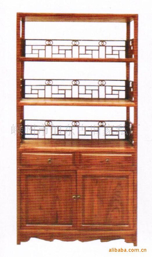 供应仿古书柜 书架 书橱 古典明清家具,实木木雕