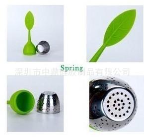 新奇特产品 时尚硅胶茶叶器 茶叶包包 矽胶加不锈钢茶叶器