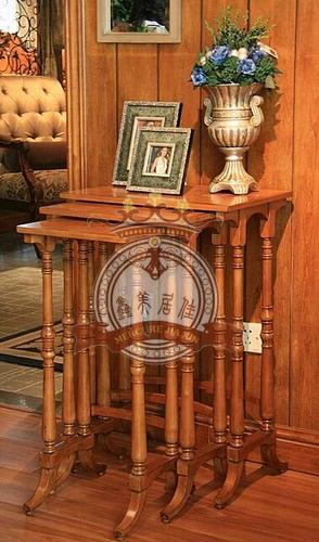 【小美式家具休闲套几风格、休闲角几】评价东方雅冠家具图片