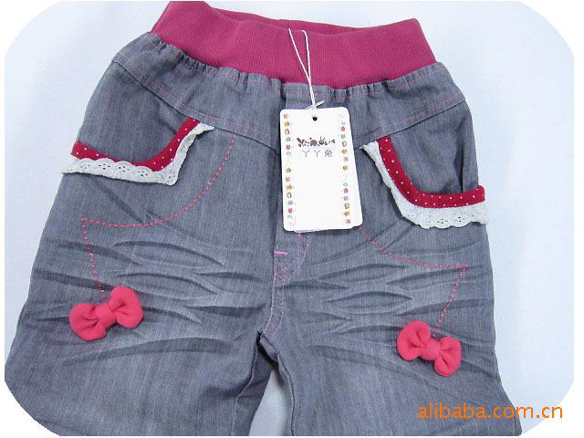 中大童牛仔裤.童裤.牛仔裤.儿童牛仔裤 -价格,厂家,图片,童裤,龙杰