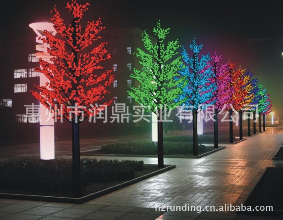 ,5888灯,LED枫叶树灯,装饰精品.图片,6-枫叶树简笔画大全
