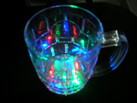 Colorful luminous tankages 500ml led cup colorful wine glass christmas gifts