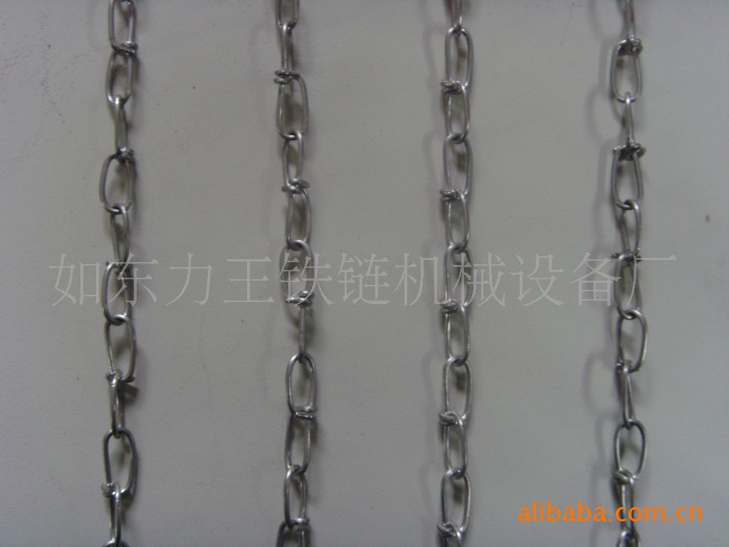 台灯打结金属-南通链条编链机触摸链机设备成型货源方案图片