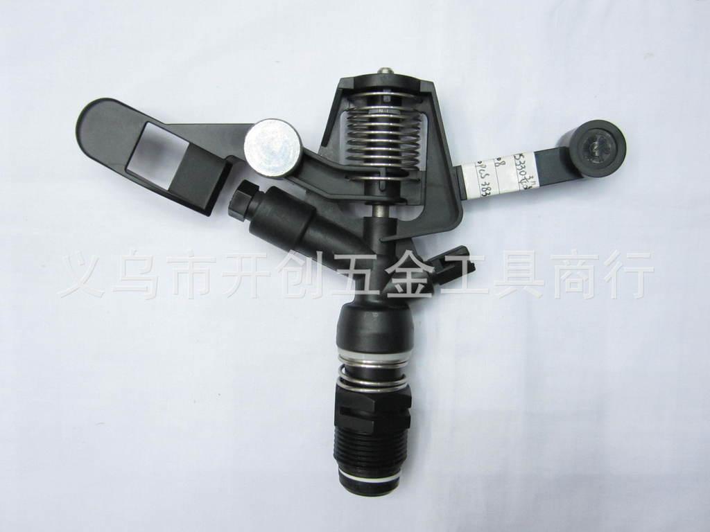 厂家直销园林喷灌3 4寸塑料外螺纹摇臂喷头6