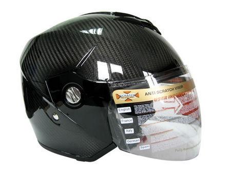 碳纤维头盔 外贸品质通风 揭面盔 摩托车头盔 超轻碳纤盔 flip up图片,