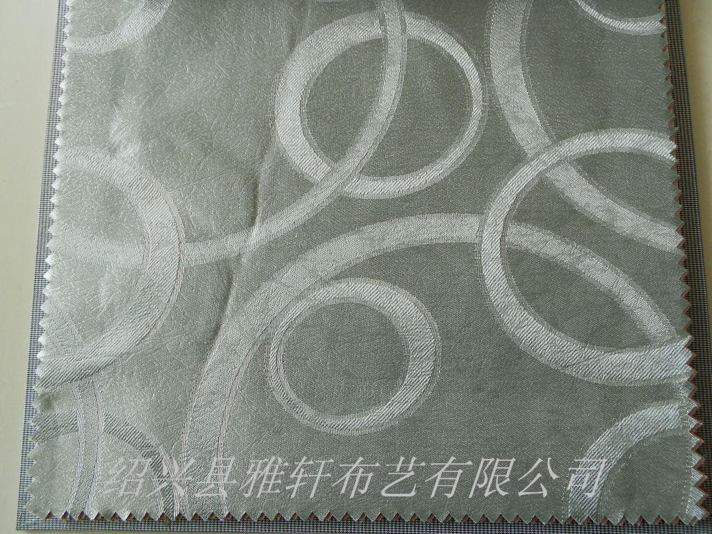 奥运圈工程提花窗帘布料半遮光时尚窗帘布窗帘设计窗帘图...