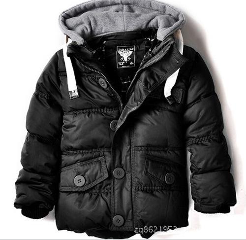12新款冬装 zara外贸童装 儿童棉服加厚男童棉