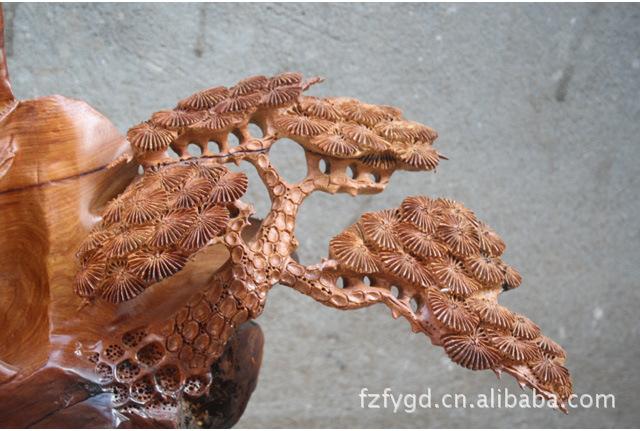 佛缘木雕 根雕工艺品黄花梨三阳开泰开业大吉古玩动物摆件3634图片