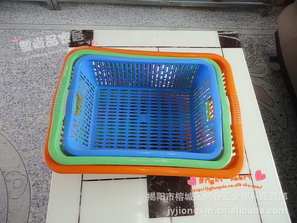 【长方筛黑头米筛果蔬篮滴水筛洗菜筛多用沥水清洁棒图片