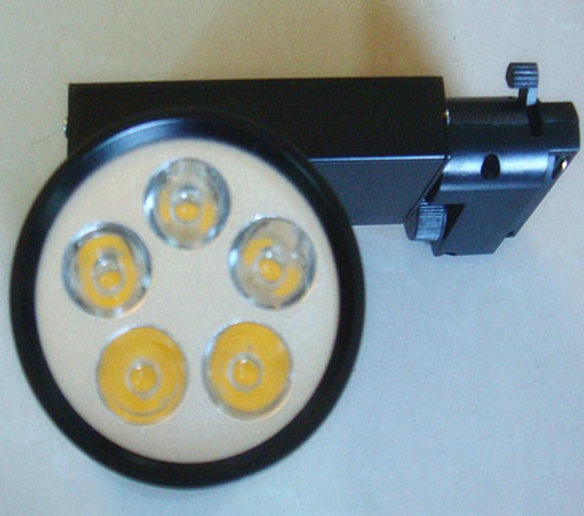 LED轨道灯 供应LED5W轨道灯 款式时尚新颖有黑色银色有3W7W9