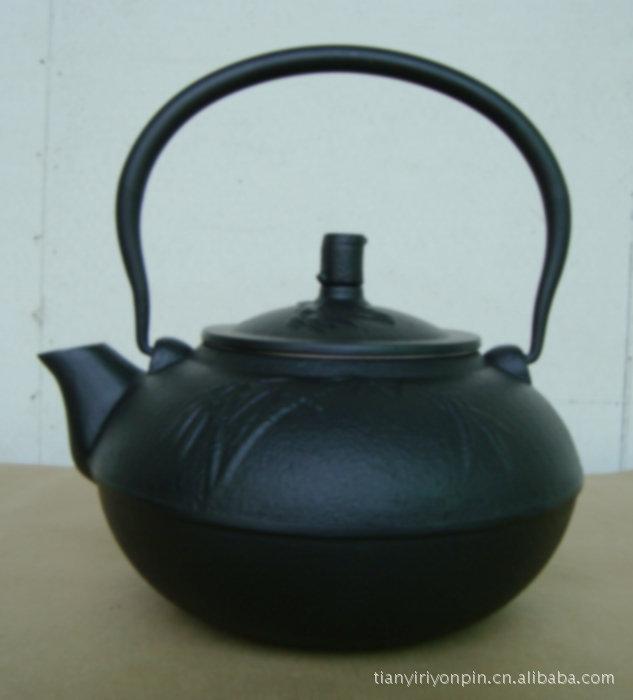 铸铁茶壶仿南部生铁壶 台湾茶具 日本搪瓷铁壶 保健老铁壶 ZY1.4