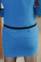 Женский костюм с юбкой Professional set women's work wear women's skirt blke1273 corsage belt