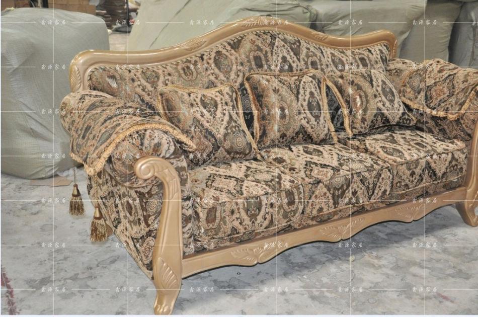 欧式布艺沙发_特价销售古典布艺沙发/客厅沙发组合