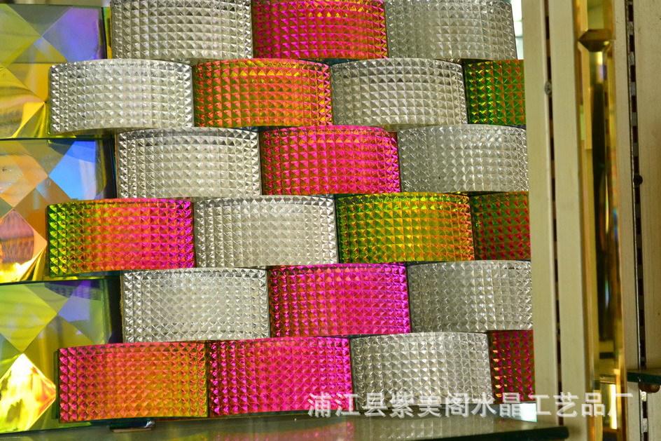 专业供应玻璃马赛克 水晶马赛克 装饰马赛克 镀彩马赛克 -价格,厂