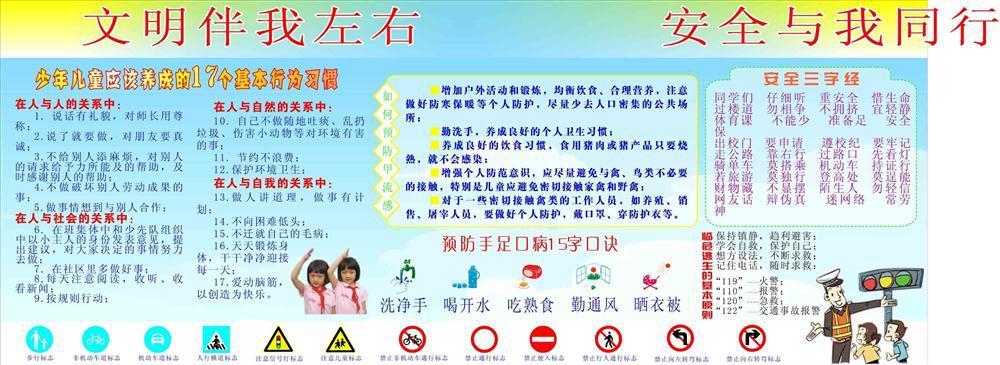 2697少年儿童习惯应该的17个基本小学养成】行为宏峰汉中图片