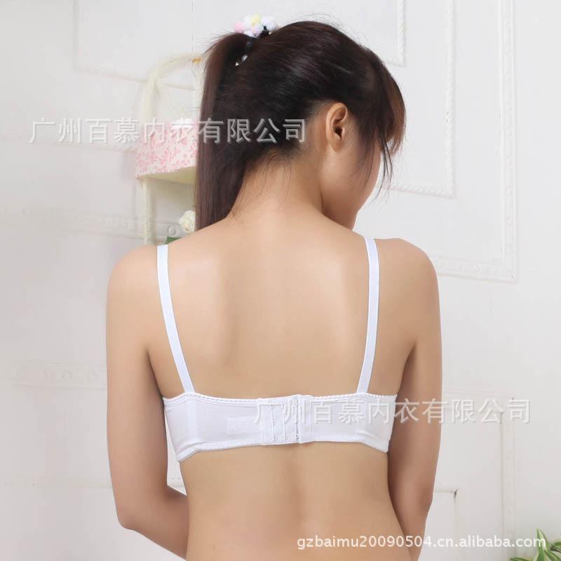 【【贝兜】少女文胸 蕾丝纯棉内杯发育中期少