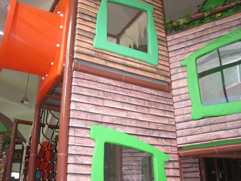 大型儿童室内游乐场 淘气堡 游乐设施 滑梯 儿童 游乐场室内设备 -儿童