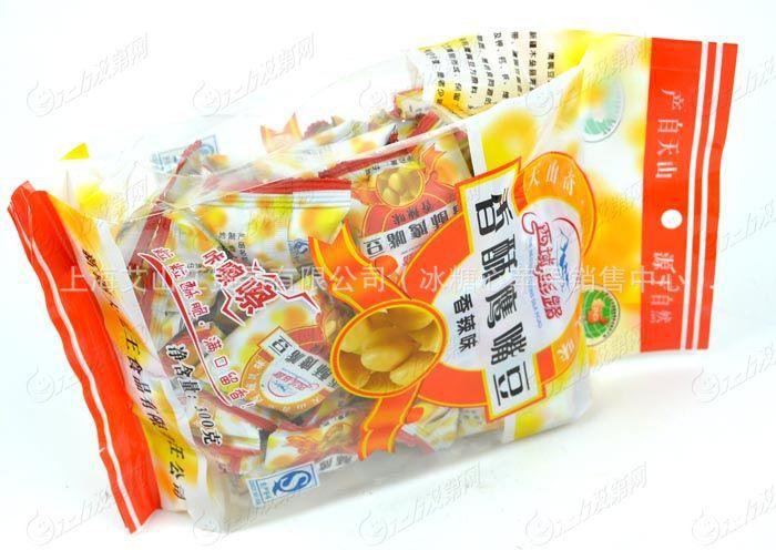 【新疆鹰嘴豆木垒鹰嘴豆香辣味300克全新鹰袋装桶图片