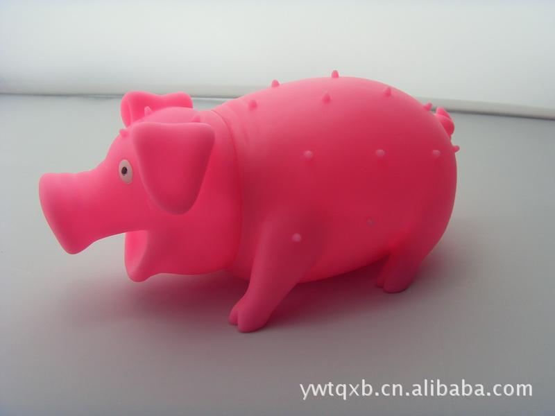【大号 惨叫猪\/发泄\/发声\/尖叫猪\/整蛊猪\/会叫的