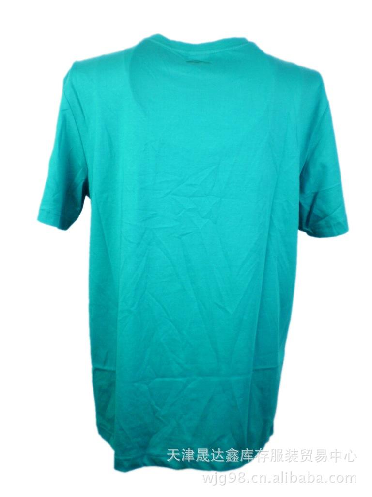 库存服装 品牌男短袖T恤大量供应 ,长期供应品牌运动服装尾货 -价