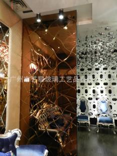 艺术玻璃 KTV 酒吧 酒店 夜场装修吊顶图片