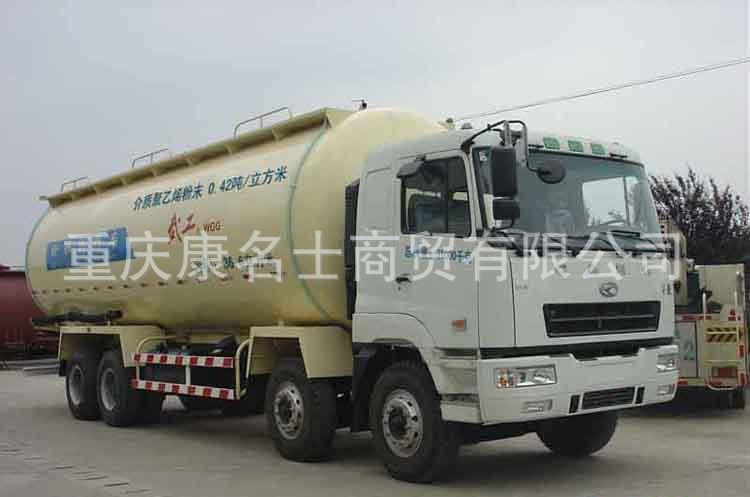武工WGG5316GFLH粉粒物料运输车L290东风康明斯发动机