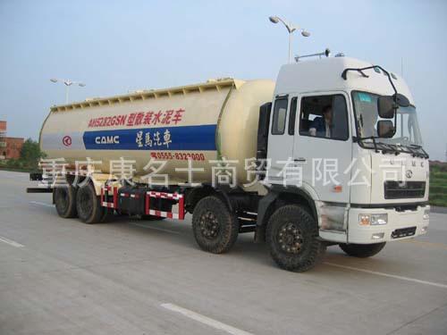 星马AH5282GSN散装水泥车L300东风康明斯发动机