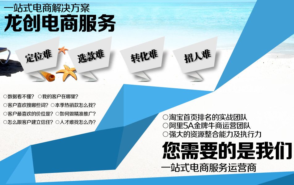 【杭州龙创 诚信通网店托管代运营 排名优化、