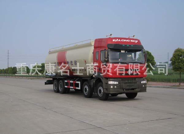 龙帝SLA5310GFLL6粉粒物料运输车ISLe340东风康明斯发动机