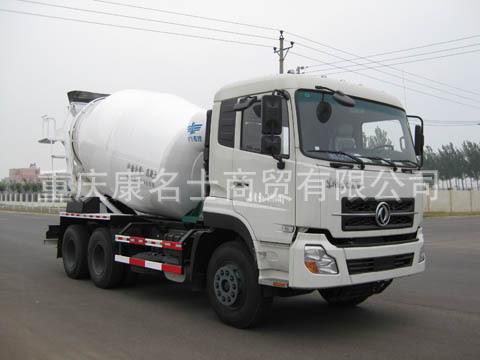 新飞XKC5252GJBA3混凝土搅拌运输车ISLe340东风康明斯发动机