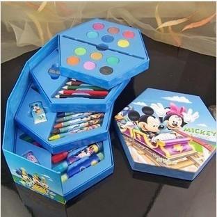 迪士尼文具绘画水彩笔套装 礼盒儿童生日礼物 学习用品 9款可选
