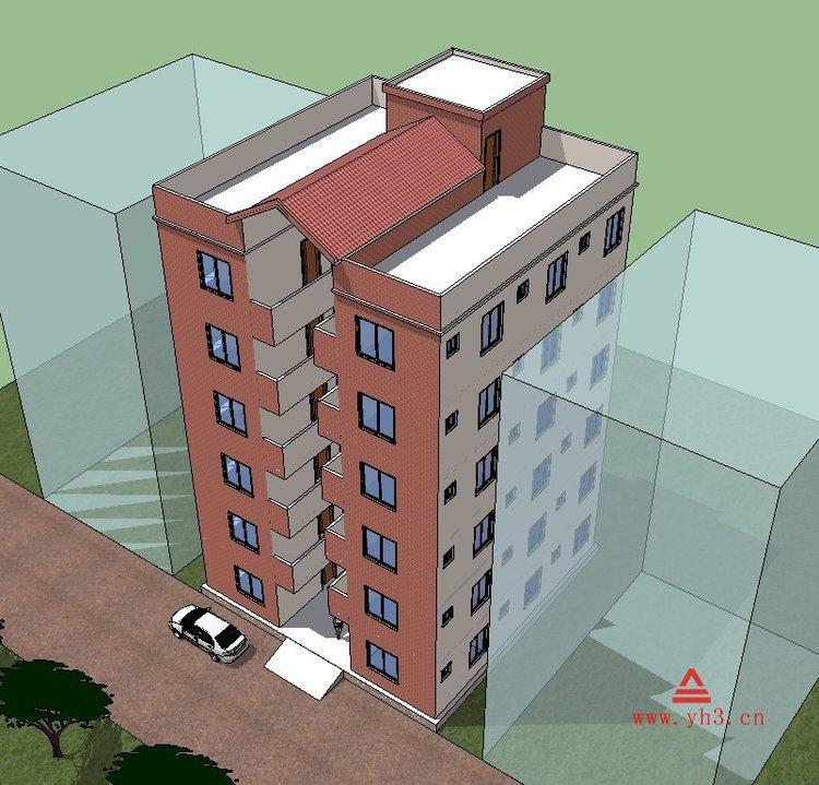 建筑设计广西自建房设计图纸农村别墅设计普通民房设计出租房设计