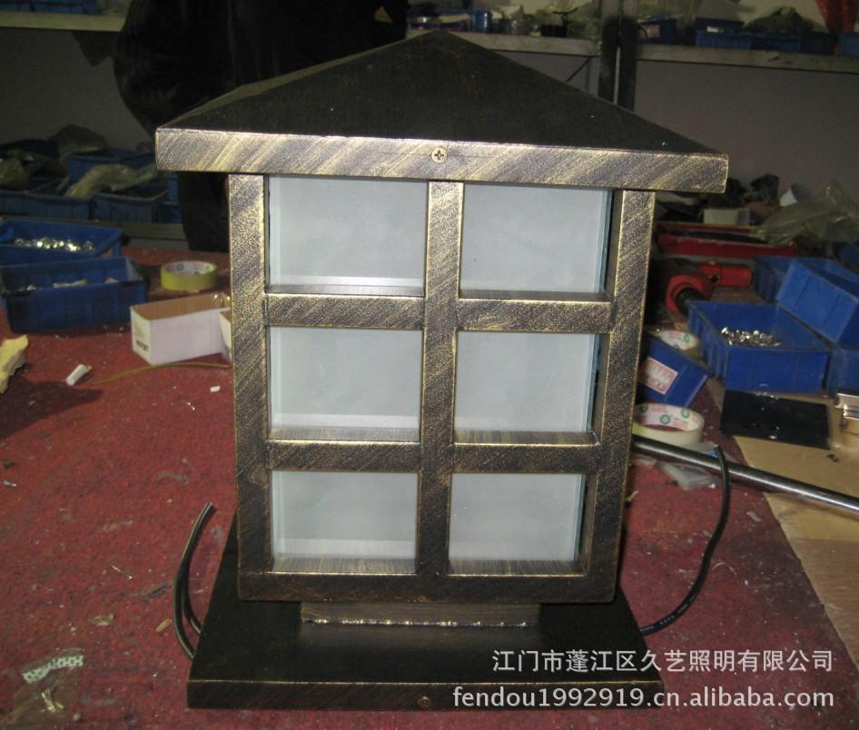 【中山高差制作柱头灯柱头灯厂家不锈钢供应cad房间外壳有图片