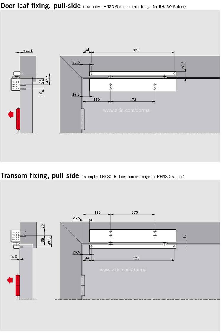 多玛闭门器TS97闭门器