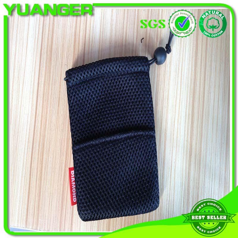供应网布袋 拉绳束口袋 促销包装网袋 深圳远捷厂家定做