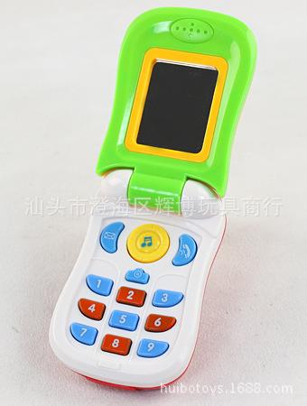 婴幼儿教具-婴幼儿玩具 趣味滑盖拍照音乐手机