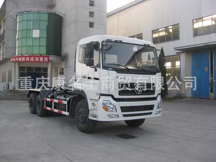 奇特JTZ5250ZXX车厢可卸式垃圾车ISC8.3-270东风康明斯发动机