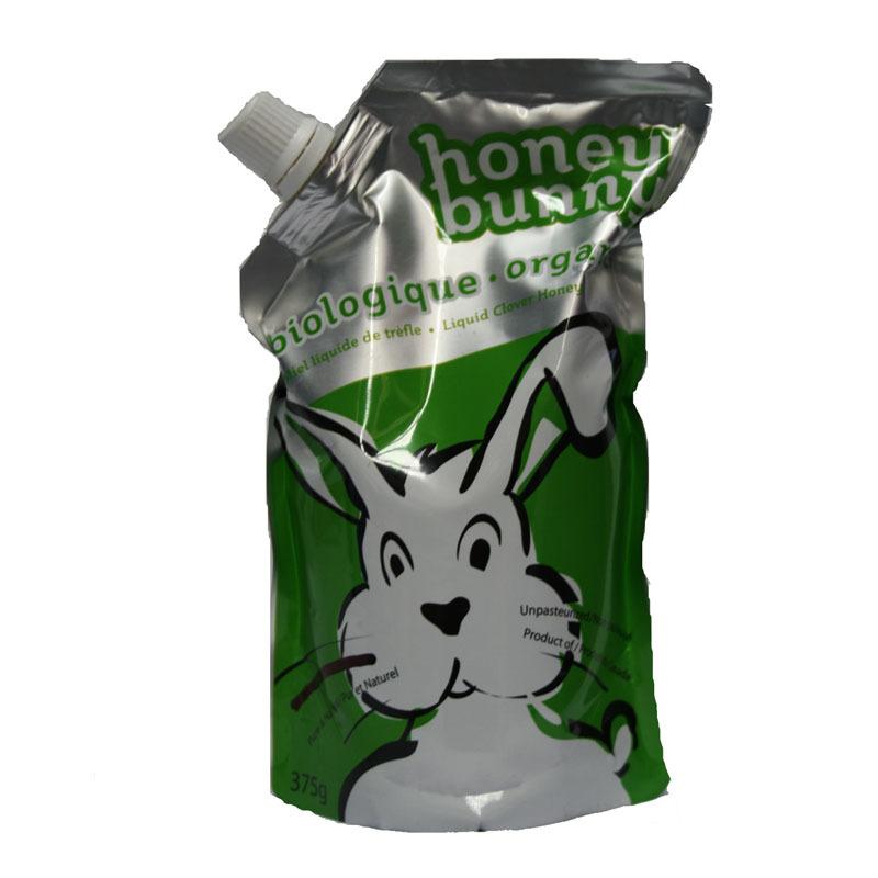 哈尼兔三叶草纯蜂蜜(液体型)375g/袋加拿大原装进口图片_6
