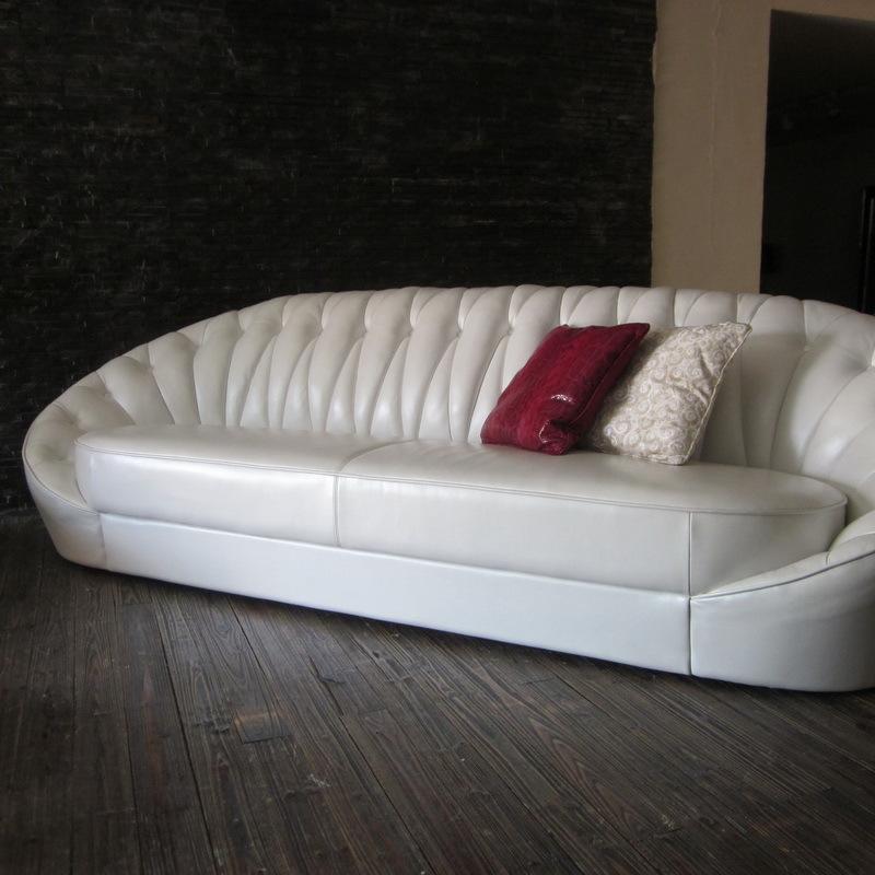 客厅直销休闲头层展厅工厂牛皮室外进口现代沙发实木家具效果图图片