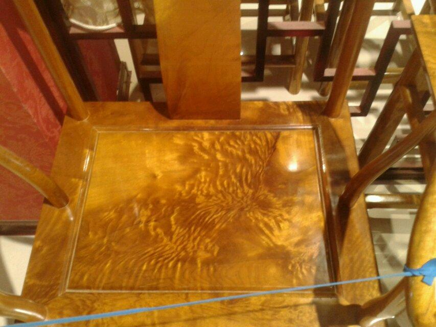 红木家具 金丝楠木圈椅 纹理精美 精雕工艺 精选