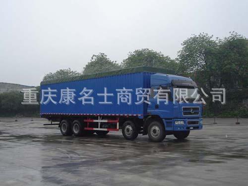 金鹰GFD5312XXYP蓬式运输车C260东风康明斯发动机