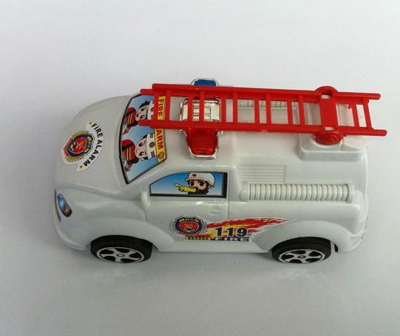拉线消防车 儿童玩具  益智玩具  地摊专卖  义乌2元